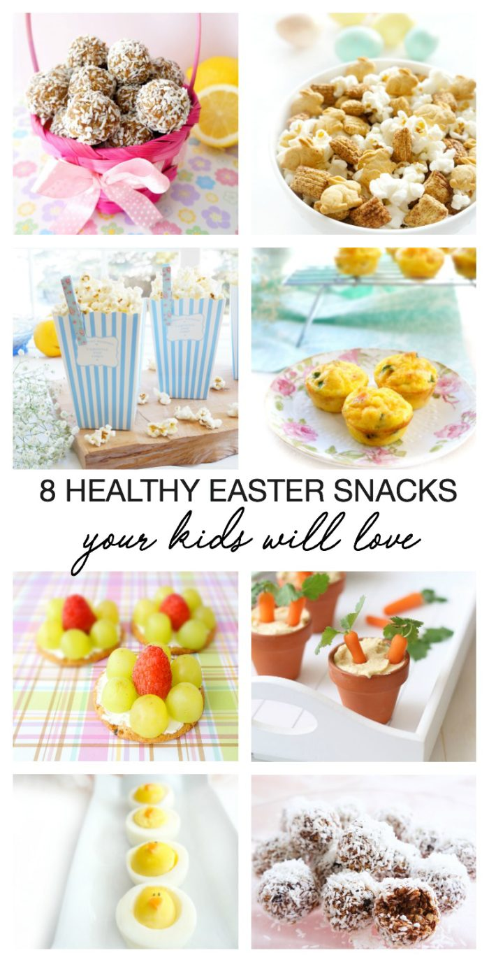 These healthy snack options are low in sugar, big on taste and so much fun for Easter! Perfect for both kids and adults!
