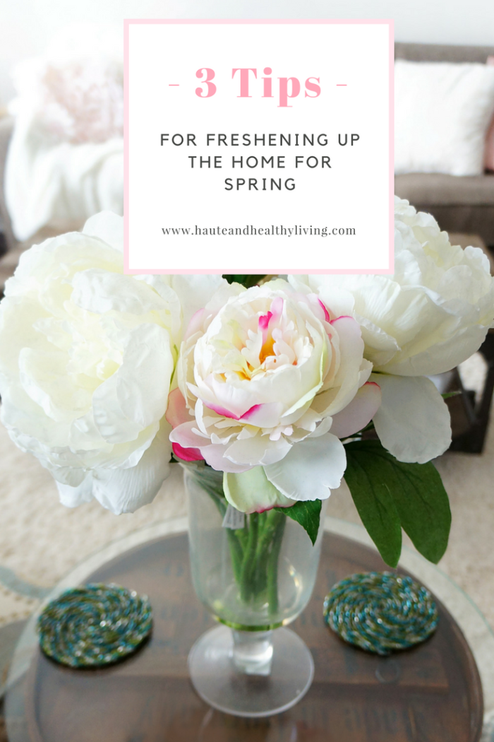 Pretty white peonies for living room Spring decoration