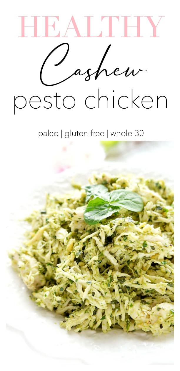 Cashew Pesto Chicken