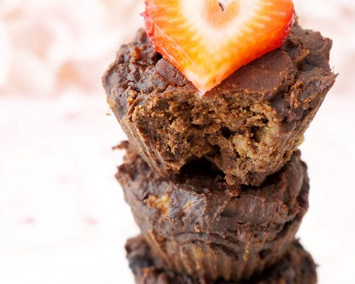 4-Ingredient Flourless Chocolate Brownie Cups