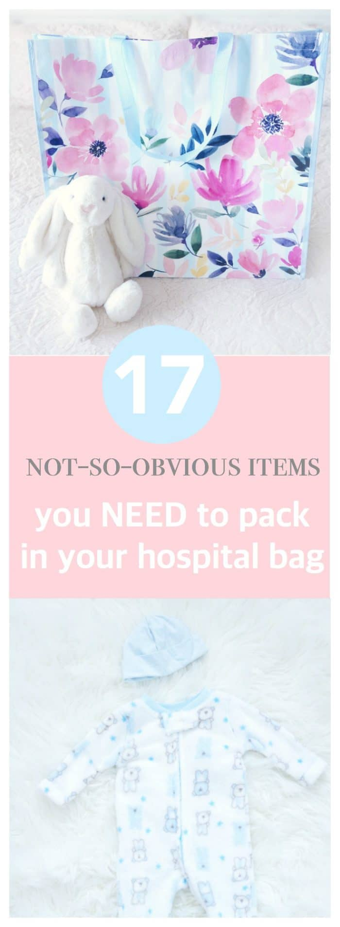 Not-So-Obvious Hospital Bag Items that You'll Need Before & After Delivery