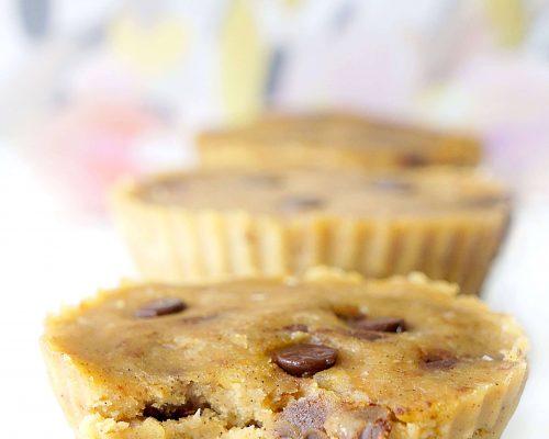 No-Bake Healthy Cookie Dough Cups