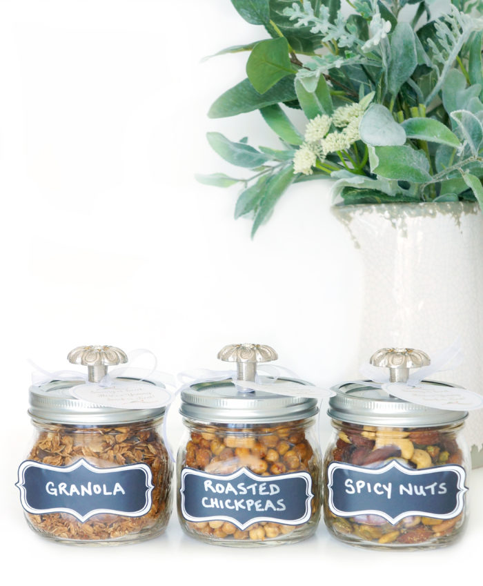 DIY Mason Snack Jars