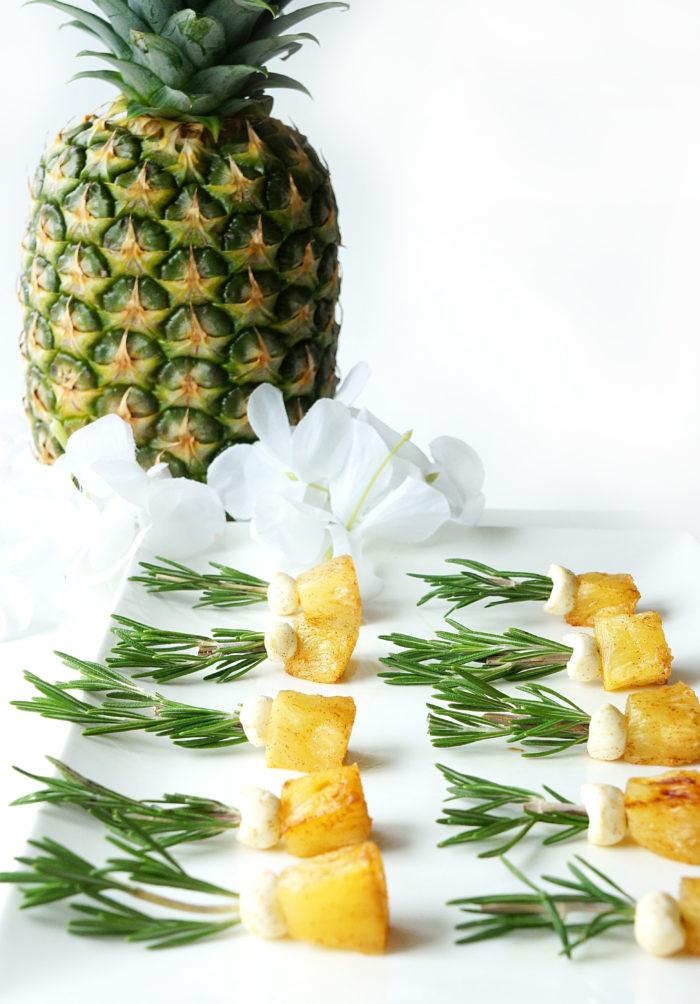 Mini Roasted Pineapples
