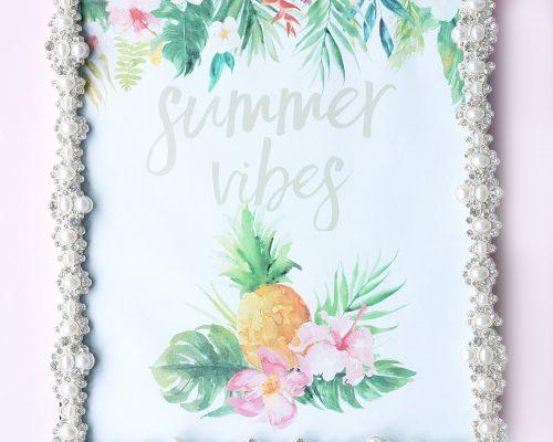 Free Summer Vibes Printable