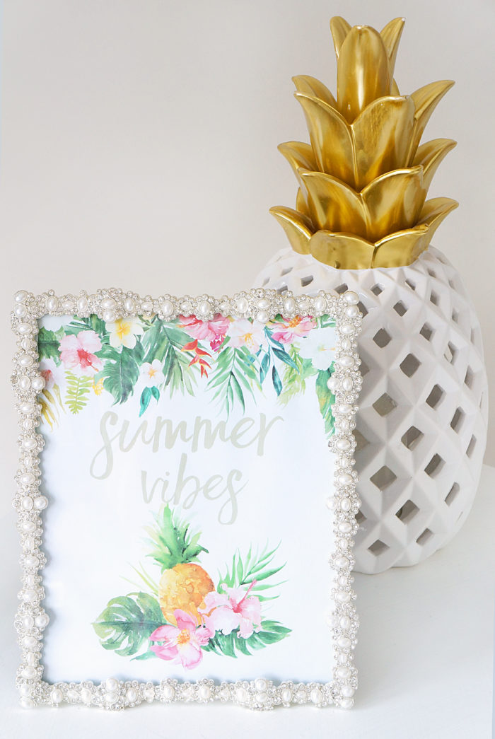 Free Summer Vibes Printable