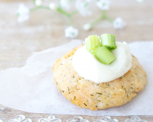Mini Salmon Dill Cakes