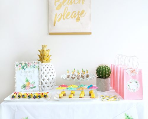 Tropical Themed Party