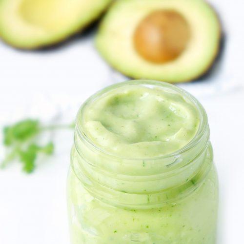 5-Ingredient Avocado Creme