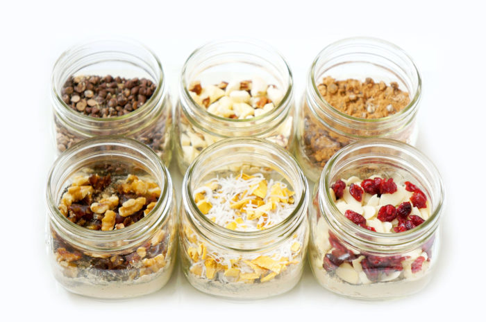 DIY Mason Jar Instant Overnight Oat Recipes