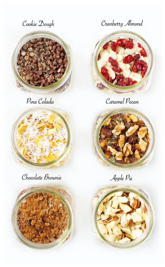 DIY Mason Jar Overnight Oat Recipes