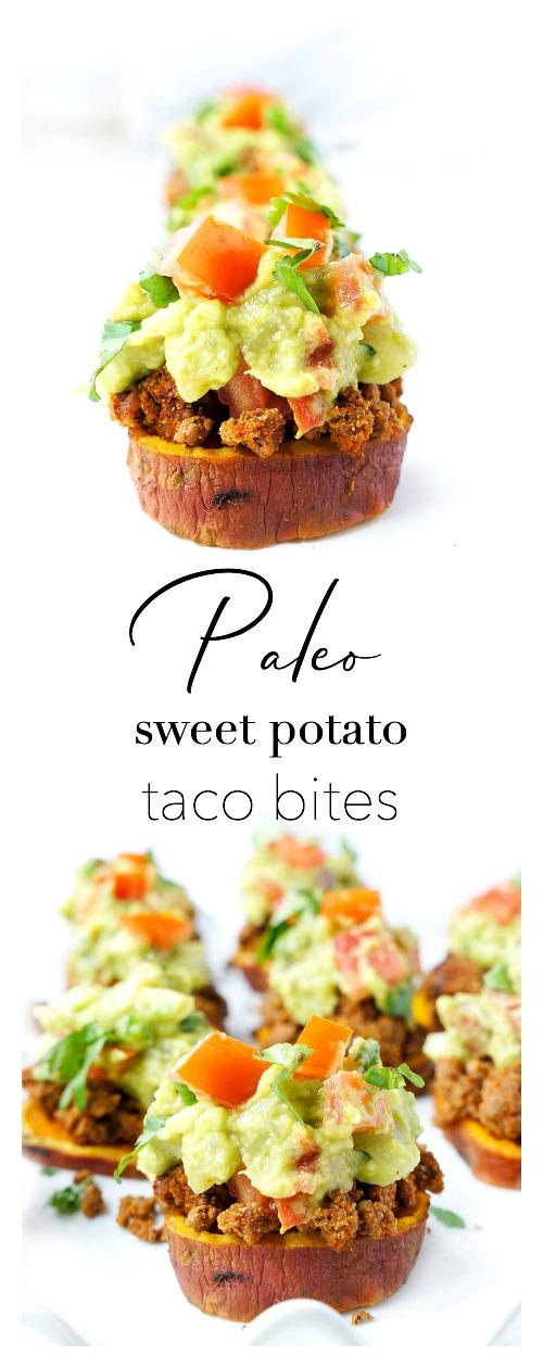 Sweet Potato Taco Bites