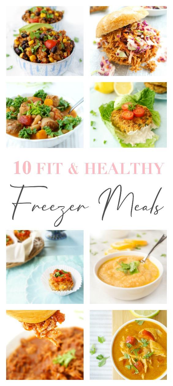 10 Fit & Healthy Freezer Meals