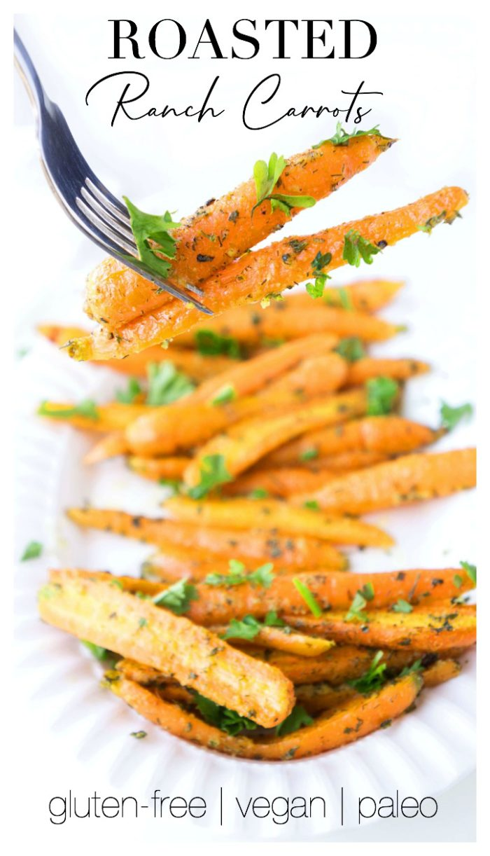 Roasted Ranch Carrots