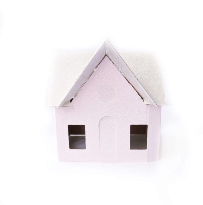 DIY Glitter House