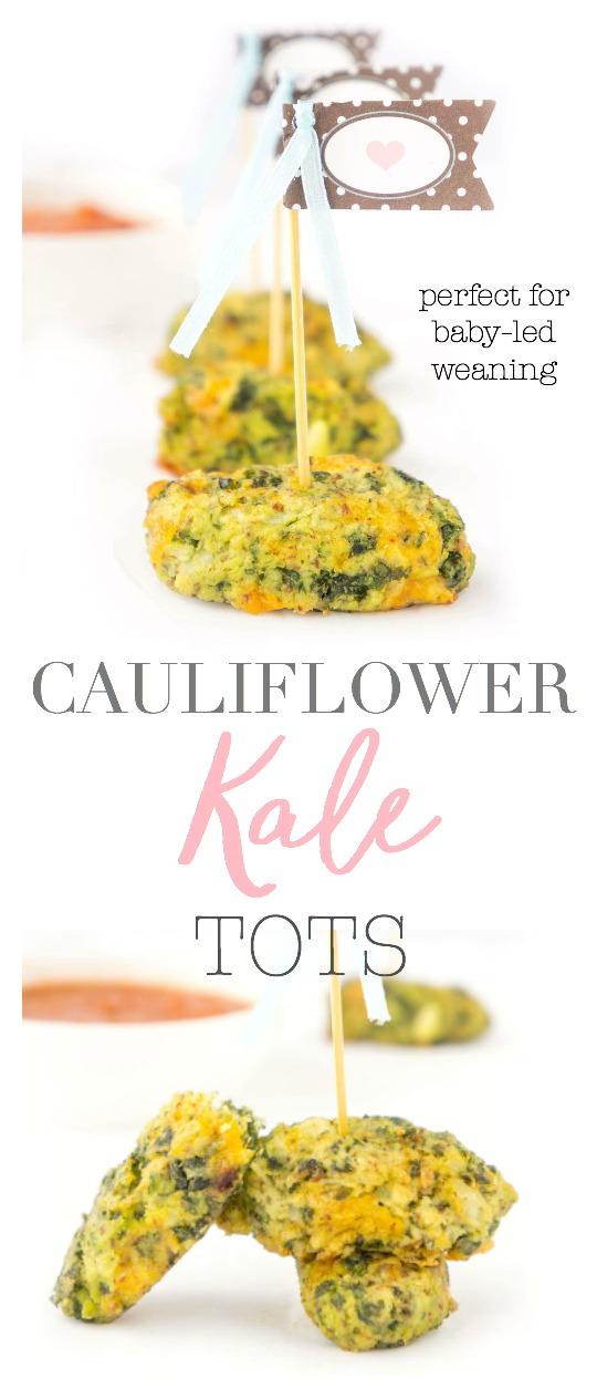 Cauliflower Kale Tots