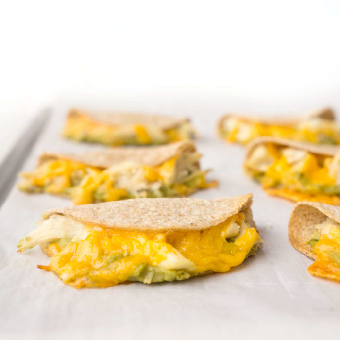 Mini Chicken Avocado Quesadillas