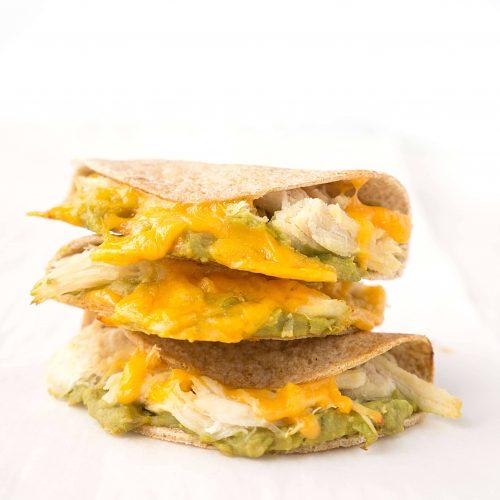 Mini Chicken Avocado Quesadillas