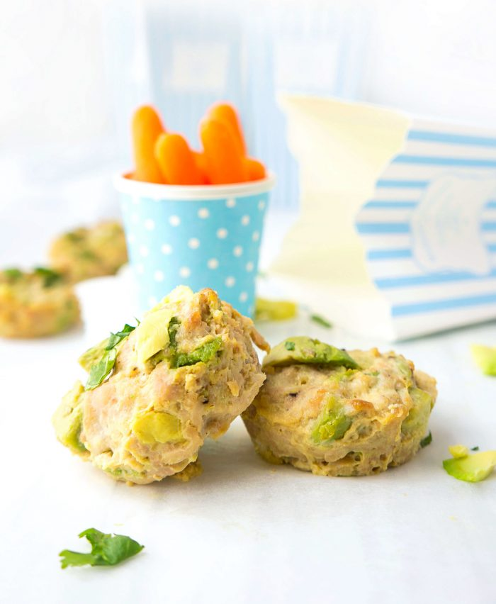 Chicken Avocado Poppers