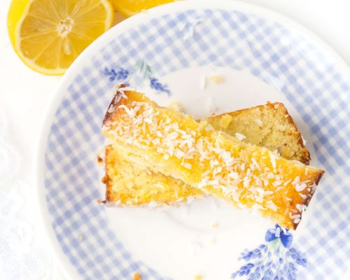 Gluten-free Lemon Coconut Loaf