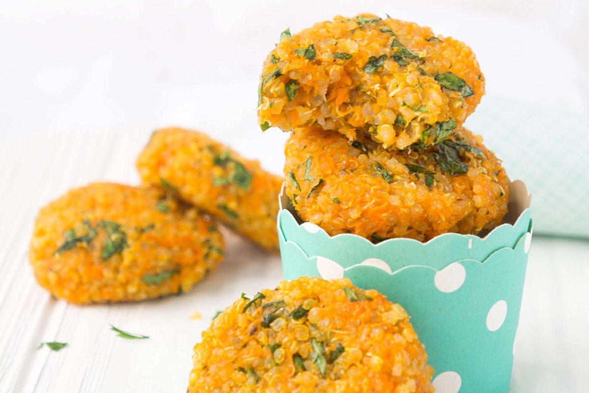 Sweet Potato Quinoa Cakes