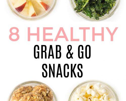 Healthy Make-Ahead Snack Ideas in a Mason Jar