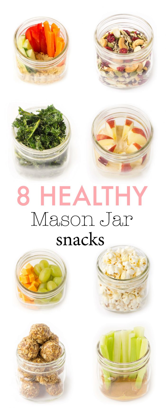 Healthy Make-Ahead Snack Ideas