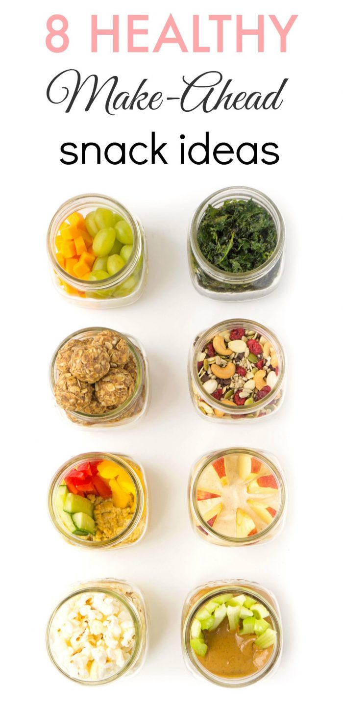 Healthy Make-Ahead Snack Ideas