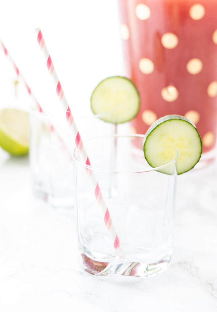 Watermelon Cucumber Spritzer