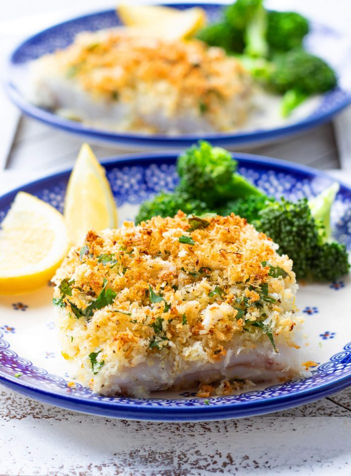 Parmesan Crusted Cod Haute Healthy Living