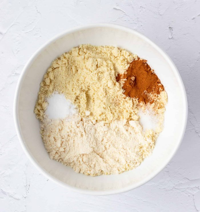 Dry ingredients for muffins