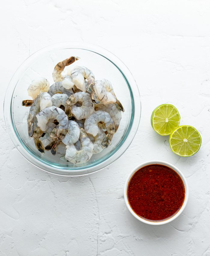ingredients required for chili lime shrimp