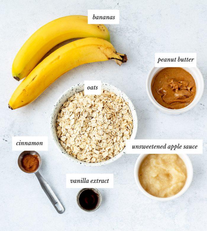 Ingredients to make the cookies.